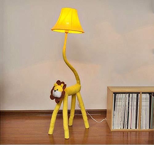 LITFAD Dimmable Floor Lamp Cartoon Lion Design 51