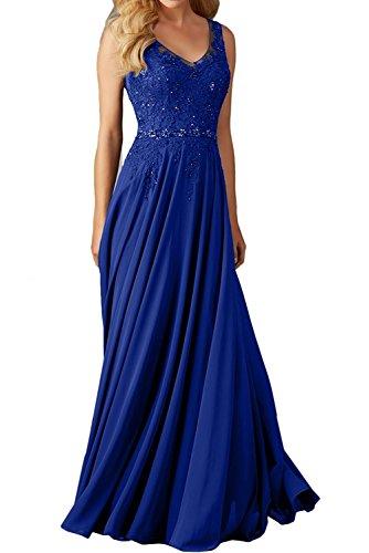 La Gruen Rock Blau Spitze Braut linie Festlichkleider Royal Lang mia Dunkel Partykleider Abendkleider A Damen Promkleider Cocktailkleider rfqgartxwS