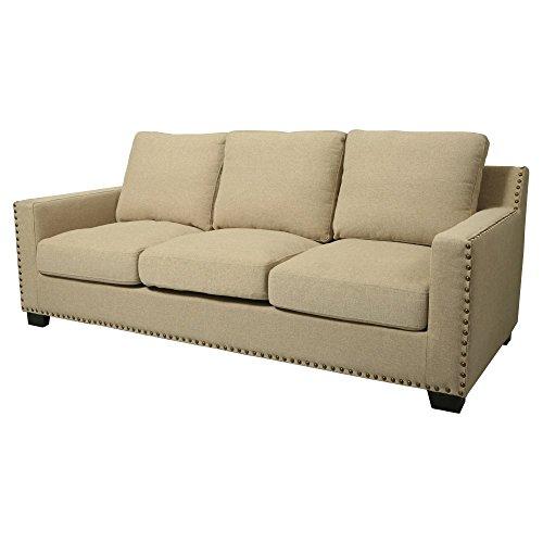 Pastel Furniture Aymara Sofa in Cream