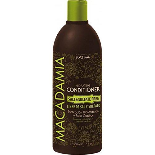 Kativa Macadamia Après-shampooing sans sel ni sulfates 500ml D0866207