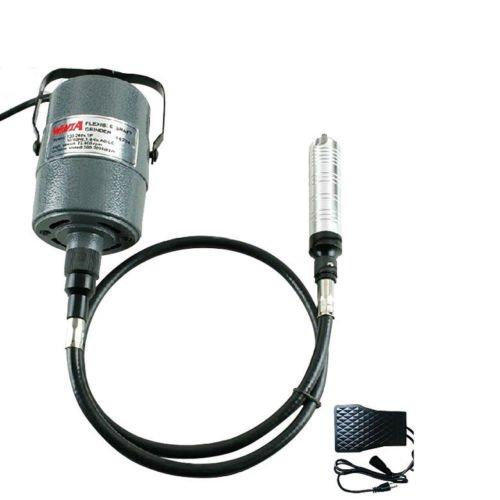 Price comparison product image TOPCHANCES SR 110V Hanging Flexshaft Mill Motor Jewelry Design & Repair Kits 4mm (Green)