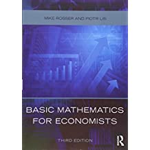 Basic Mathematics for Economists
