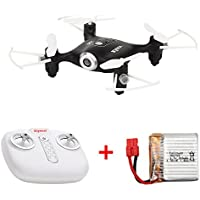 Small Drone RC Helicopter Auto Hover 3D Flip Mode 2.4G 4CH 6Aixs Headless Mode small drones Syma X21 (black)