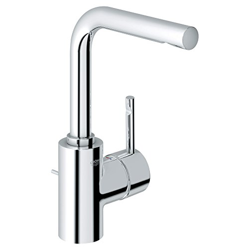 Grohe 32 137 000 Essence Single Lever Centerset Lavatory, StarLight Chrome