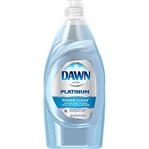 Dawn Platinum Power Clean Dishwashing Liquid Refreshing Rain 18 Oz (18 oz.)