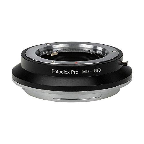 Format Camera Adapter - Fotodiox Pro Lens Mount Adapter Minolta Rokkor (SR/MD/MC) SLR Lens to GFX 50S G-Mount Medium Format Mirrorless Camera