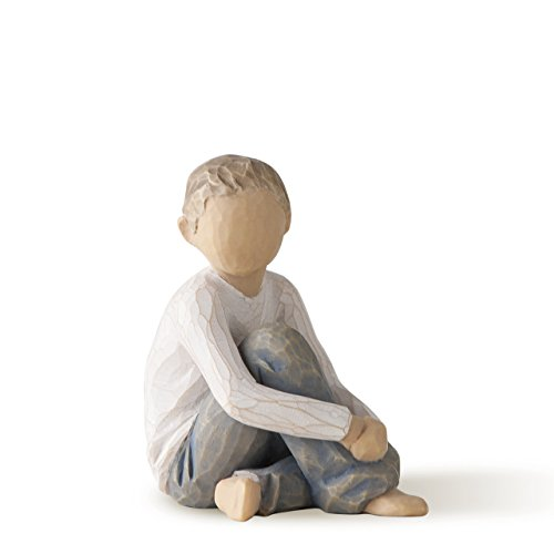 (Willow Tree Caring Child, sculpted hand-painted figure)