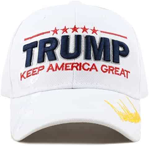 5c03911de77f4 THE HAT DEPOT Exclusive Donald Trump Keep America Great Make America Great  Again 3D Signature
