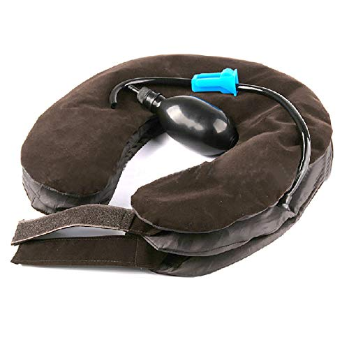 Enshey Inflatable Neck Traction Pillow Blow Up Cervical Vertebra Tractor Traction Massage Neck Back Shoulder Pain by Enshey (Image #2)