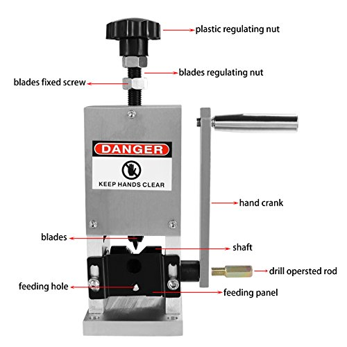 Homdox Wire Stripping Machine Automatic Drill/Handle Wire Stripper Machine Copper (US Stock) by Homdox (Image #3)