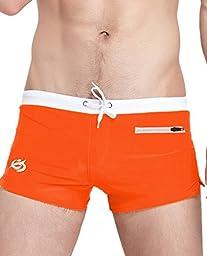 Boardshorts Swim trunks Orange,US S(Asia L)