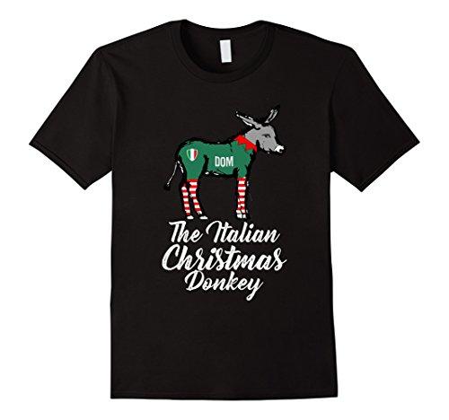 Italian Christmas Donkey T Shirt American Italian Xmas Gift