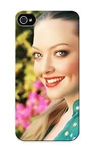 Flexible Tpu Back Case Cover For Iphone 5/5s - Amanda Seyfried