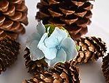 Handmade Hydrangea Hair Pin | Air Dry Clay |Size 5 cm X 6 cm | 0.2 oz