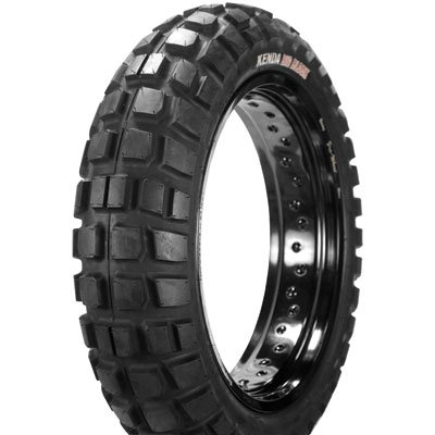 140/80x18 (70R) Tube/Tubeless Kenda K784 Big Block Dual Sport Adventure Rear Tire for Honda XR650L 1993-1995