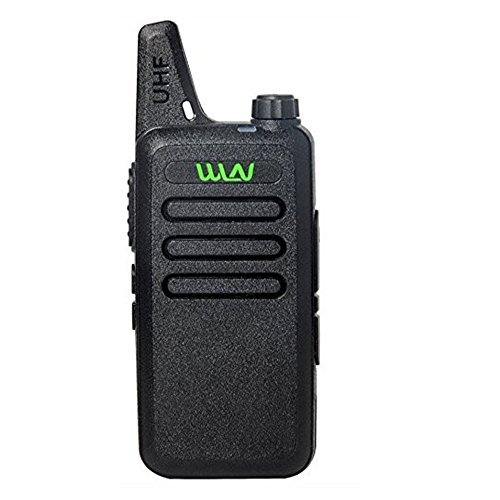 WLN KD-C1 Mini Long Range USB Rechargeable Two Way Radio Walkie Talkie with Desktop Charger and Belt Clip for Kids by radtel