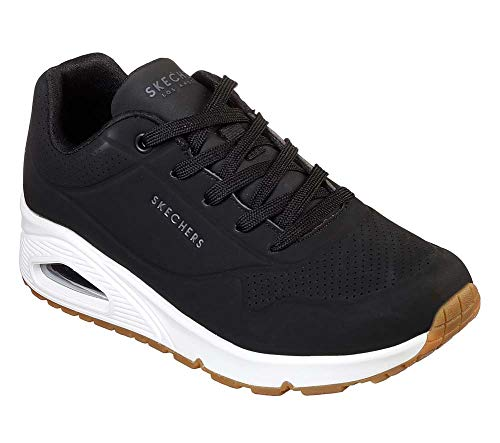Skechers Women's Uno-Stand On Air Trainers, (Black Blk), 6 (39 EU)