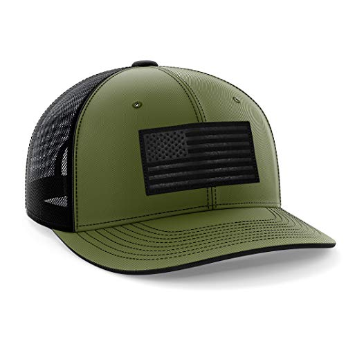The Fighting Forces Army Green USA Snapback Hat