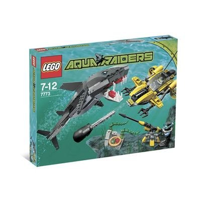 Lego Aqua Raiders 7773 - Tiger Shark Attack (339 Pieces)