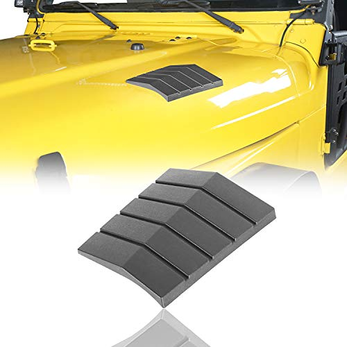 - Cowl Body Armors Outer Cowling Front Hood Corner Guards for 1997-2006 Jeep Wrangler TJ & Unlimited(Pack of 2)