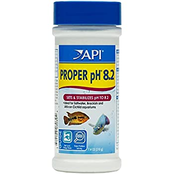 API PROPER pH 8.2 Aquarium Water pH adjuster 7.4-ounce