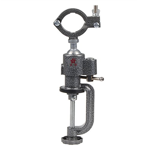 Universal Mini Clamp-on Bench Vise Grinder Holder Electric Drill Stand (Vise Bullet)
