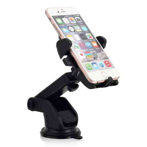 Universal Car Holder Windshield Dash Suction Cup Mount Stand for Cell Phone GPS - Samsung Galaxy Note Apple iPhone Nokia Motorola ZTE LG