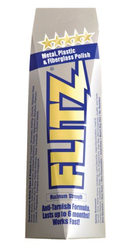 Flitz Metal Polish, Fiberglass & Paint Restorer, 5.29 oz Tube - 3 Pack (Glass Enclosure Door Fireplace)