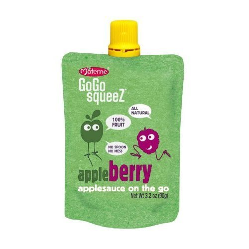Apple Squeeze Applesauce Re sealable Pouches product image