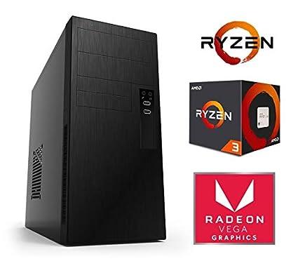 Megamania - Ordenador de Sombremesa PC (Alpha G6) AMD Ryzen 3 ...