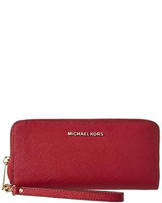 Michael Michael Kors Jet Set Leather Wallet