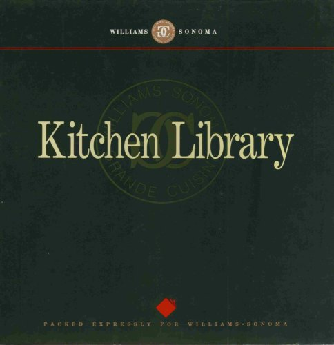 (Williams-Sonoma Kitchen Library Volume 1 Gift Set (Pies & Tarts, Grilling, Hors d'Oeuvres & Appetizers, Pasta))