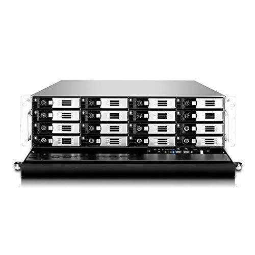 Thecus N16850 3U 16BAY 3.4 GHz 4 X GB Bastidor (3U) Ethernet Negro - Plata: Amazon.es: Informática