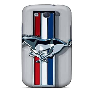 New Arrival Covers Cases With Nice Design For Galaxy S3- Ford Mustang Logos