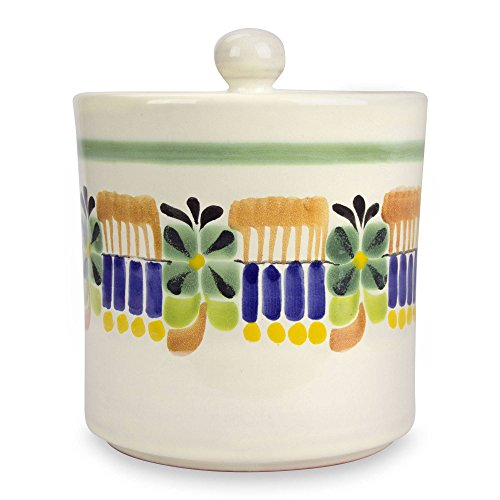 Majolica Jar - NOVICA 227299 Acapulco' Majolica Ceramic Cookie jar