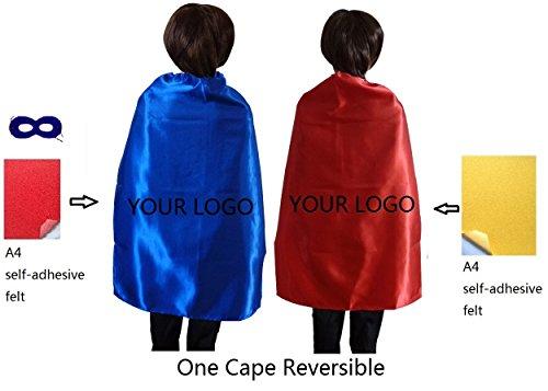 [Ranavy Diy Superhero Capes For Kids Birthday Party Superhero Costumes Unisex 27
