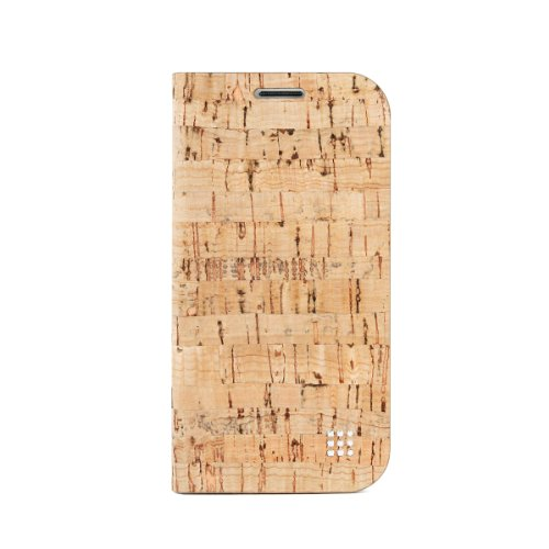 ForestGreen FHCS-405COR Unique Eco-Friendly Cork Flip Cover for Samsung Galaxy S4 with Screen Protection Film - 1 Pack - Retail Packaging - Cork