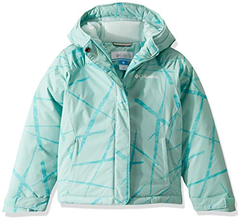 Columbia Girls' Big Horizon Ride Jacket, Spray Spider Streets, Small