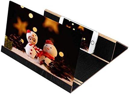 Boheng Schermo Del Telefono Cellulare HD Protezione Degli Occhi Pieghevole Staffa Amplificatore Lente di Ingrandimento del Telefono Mobile