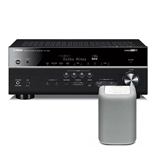 yamaha rx v683 7 2 channel av network receiver with dolby. Black Bedroom Furniture Sets. Home Design Ideas