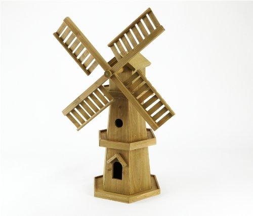 Large Wooden Windmill Patio/garden Ornament: Amazon.co.uk: Garden U0026 Outdoors