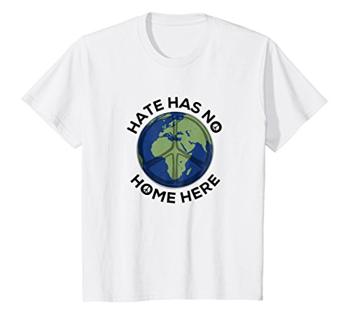 Kids Hate Has No Home Here T-Shirt Peace Equality and Unity