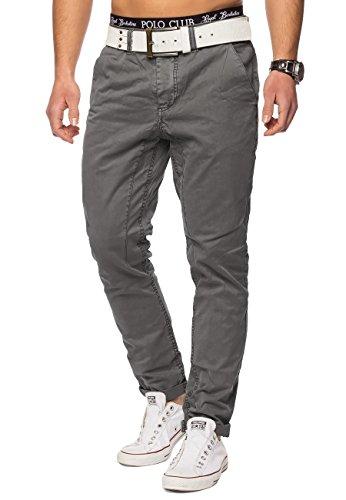 Décontracté Regular Fit Hosen Coton En Pantalon Gris Arizonashopping Jeans H1421 FwRX7qW