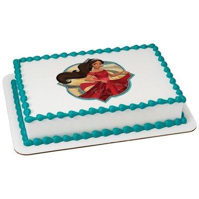 Amazoncom Elena of Avalor Licensed Edible Cake Topper 42530