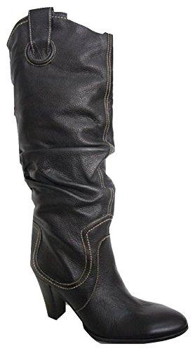 Stivali Donna Pelle In Moda 38 Pelle Marrone CATtBq
