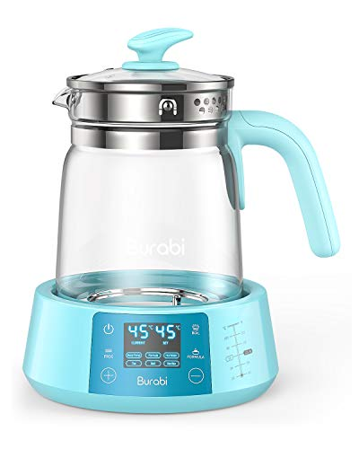 Formula Ready Water Kettle with Precise Temperature Control (Keep Warm 24 Hours at Perfect Temp) Electric Boiler Heater for Night Feeding, Faster Than Bottle Warmer ()