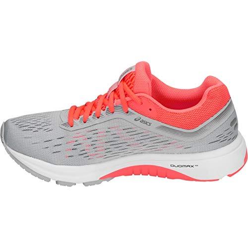 Grey Running 12 7 Women's Gt1000 Asics Shoe Coral flash Mid w01qFTnPIx