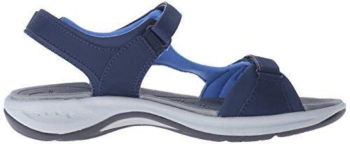 Women's Navy Sandal Flat Parent Spirit US Easy Egnita fnqx5wSU