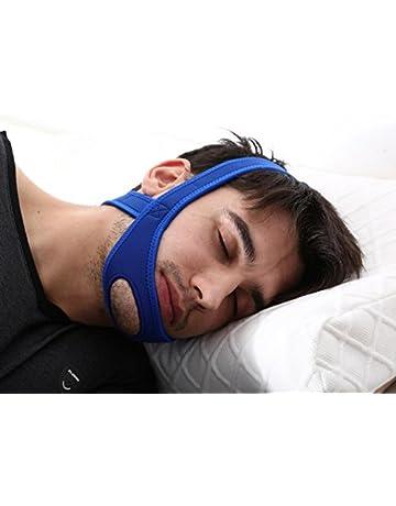 Dispositivo per non russare Hually Sottogola anti Russare Anti Russare Soluzione Comodo e Traspirante Snore Stopper Sleep Aids Dispositivi Anti Russare