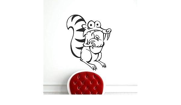 BailongXiao Etiqueta engomada de la Pared del Vinilo de la decoración del hogar del ratón para la decoración del hogar Papel Pintado de la decoración de la Fiesta del hogar 42x49cm: Amazon.es: